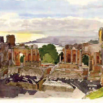 """""""Sicilia il Grand Tour"""", acquerelli Moireau a Palermo"""